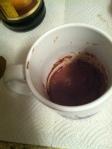 mixing cocoa & milk