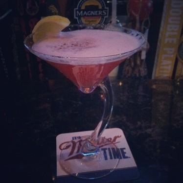 Lychee Martini from Biggie's