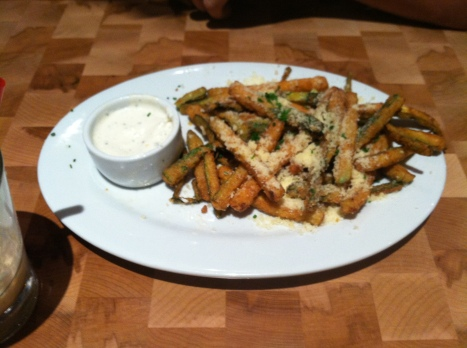 Zinburger's zucchini fries