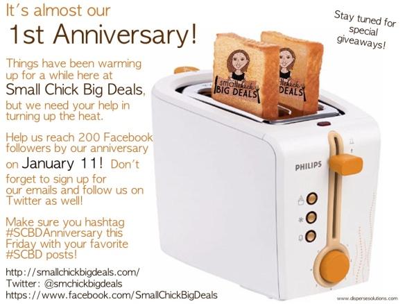 scbd anniversary hashtag flyer