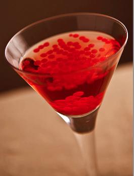 Cranberry Caviar Cocktail
