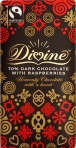 Divine 70% Dark Chocolate with Raspberries