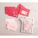 Stamp Card and Envelope Set