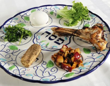 Passover Seder Plate courtesy of Tumblr