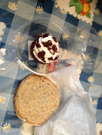 chipwich & cupcake